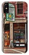 Street Signs Portland Maine IPhone Case