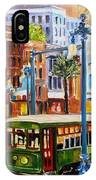 Streetcar On Canal Street IPhone Case