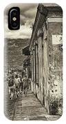Streets Of Antigua - Guatemala IPhone Case