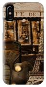 Streets Of Paris IPhone Case