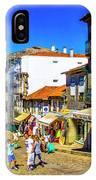 Streets Of Valenca IPhone Case