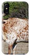 Strike A Pose - Longhorn Style IPhone Case