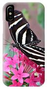 Striped Beauty - Butterfly IPhone Case