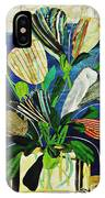Striped Tulips At The Old Apartment IPhone Case
