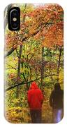 Strolling Along IPhone Case