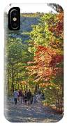 Strolling The Upper Cascades Trail IPhone Case