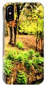 Strolling Through The Park IPhone X Case