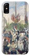 Study For Le 14 Juillet 1880 IPhone Case