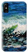 Study Of A Wave IPhone Case