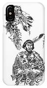 Study Of Two Indians IPhone Case