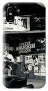 Sturgis Saloon IPhone Case