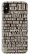 Styles Of Beer IPhone Case