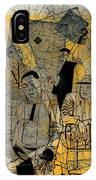 Submitted Cd Cover For The Band Bebop Complex 50's Jazz Revisited IPhone Case