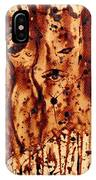 Subtle Atraction Coffee Painting IPhone Case