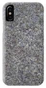 Subtle Lichen On Granite Texture IPhone Case