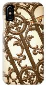 Subtle Southern Charm In Sepia IPhone Case