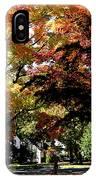 Suburban Autumn IPhone Case