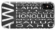 Subway Hawaii State Square IPhone Case