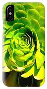 Succulent Close Up IPhone Case