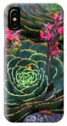 Succulent Flowers IPhone Case