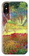 Poppies And Olive Trees IPhone X Case