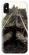 Sugar Cane Cutter IPhone Case