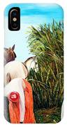 Sugarcane Worker 1 IPhone Case