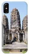 Sukhothai Khmer Sanctuary IPhone Case