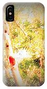Sumac Tree In The Sunlight IPhone Case