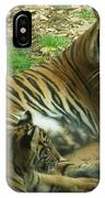Sumatran Tigers  IPhone Case