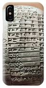 Sumerian Cuneiform IPhone Case