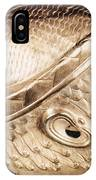 Sumerian Gold Helmet IPhone Case