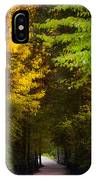 Summer And Fall Collide IPhone Case