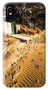 Summer Beach Shacks IPhone Case