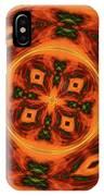 10697 Summer Fire Mask 54 Kaleidoscope 2 IPhone Case