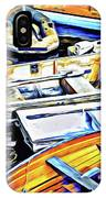 Summer Fishing Boats IPhone Case