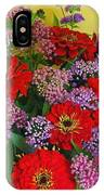 Summer Flower Bouquet IPhone Case