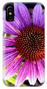 Summer Flower In Fading Light IPhone Case