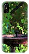 Summer Fountain Impasto IPhone Case