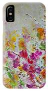 Summer Fragrance Abstract Painting IPhone X Case