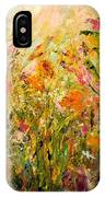 Summer Garden IPhone X Case
