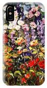 Summer Garden II IPhone Case