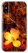 Summer Glow On Flowers IPhone Case