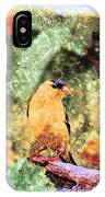 Summer Goldfinch - Digital Paint 5 IPhone Case
