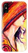 Summer Hat IPhone Case