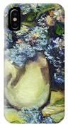 Summer Hydrangea IPhone Case