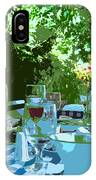 Summer Lunch Remembered IPhone Case