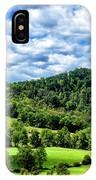 Summer Morning Meadow And Ridge IPhone Case
