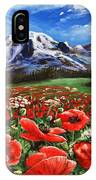 Summer On The Mountain IPhone Case