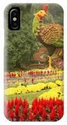 Summer Palace Flower Phoenix IPhone Case